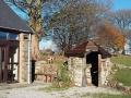 bunkhouse stone hut